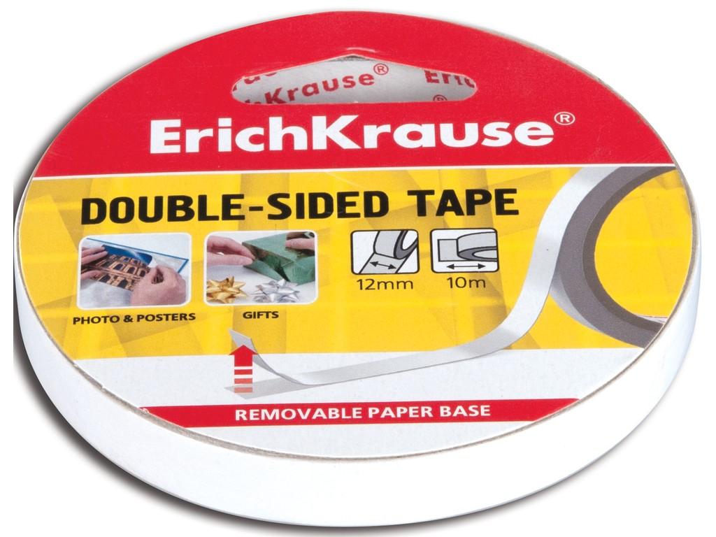 Banda Dublu Adeziva Erich Krause 12mm X 10m sanito.ro