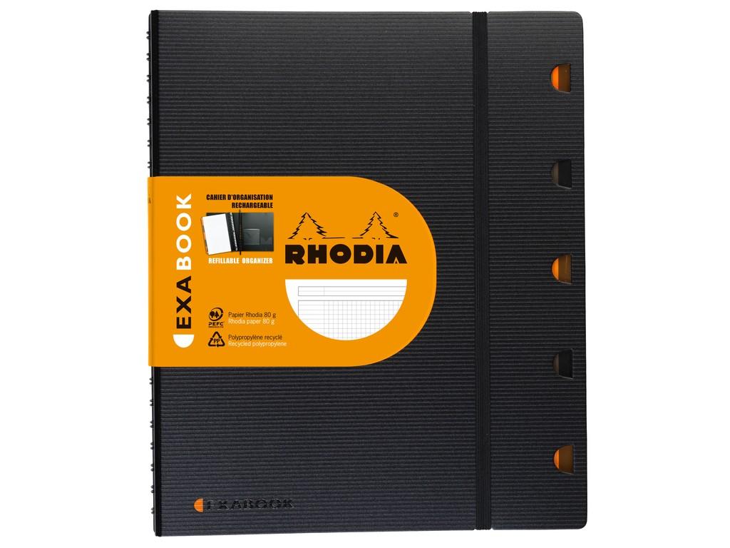 Agenda Clairefontaine Rhodia Exabook A5 2021 sanito.ro
