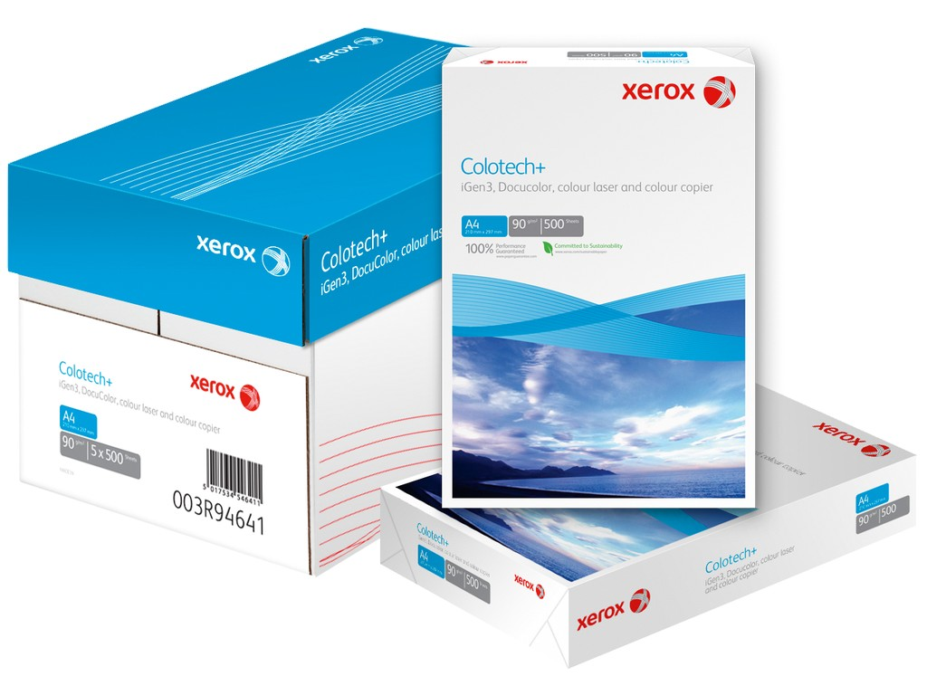 Hartie Xerox Colotech+ A4 300 sanito.ro