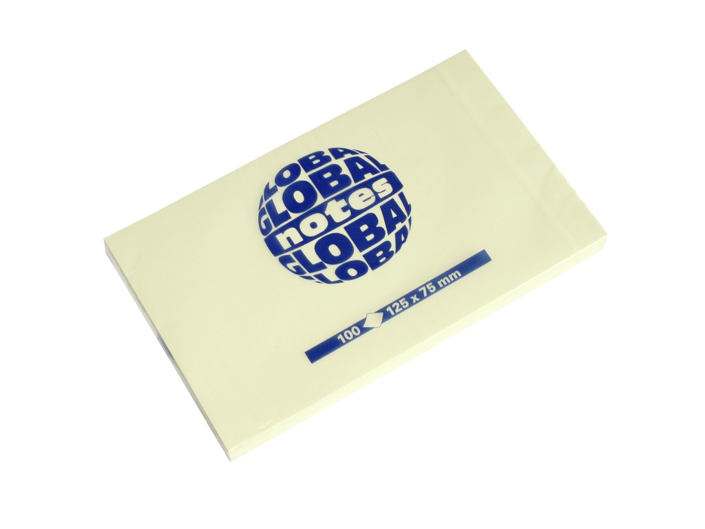 Notes adeziv Global Notes 75 x 125 mm