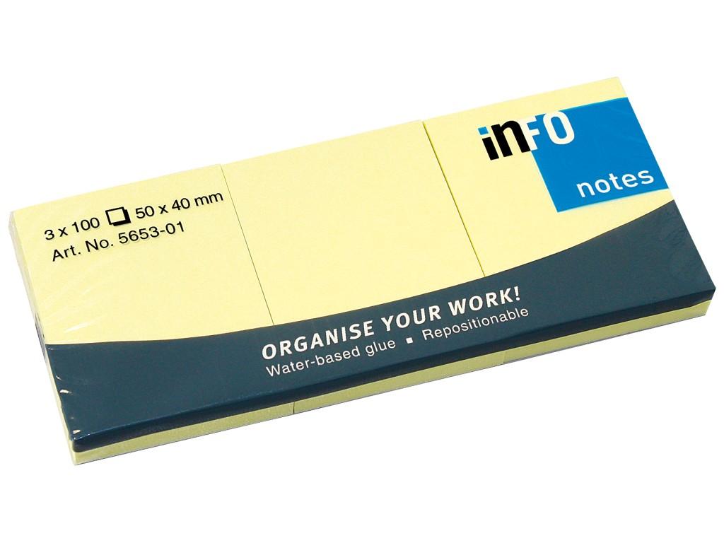Set Notes Adeziv Yellow 2021 sanito.ro