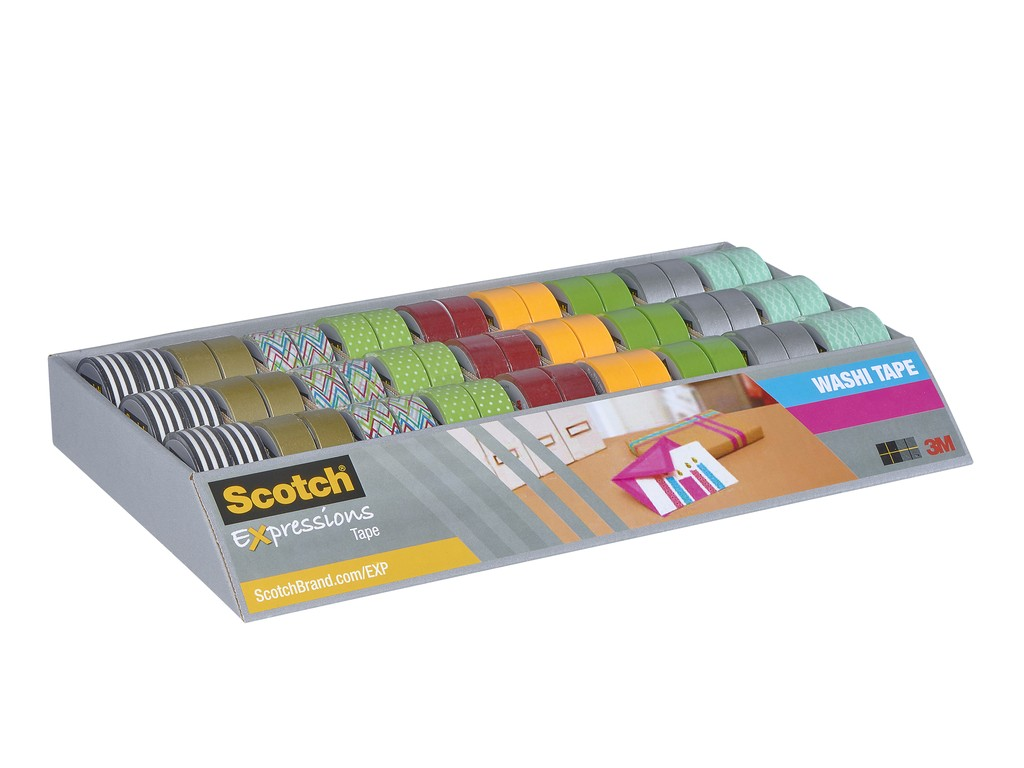 Banda Adeziva Decorativa Scotch® Washi sanito.ro