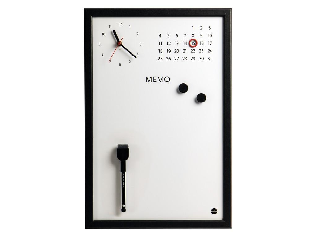Ceas Memo-Whiteboard Magnetic Bi-Silque 2021 sanito.ro