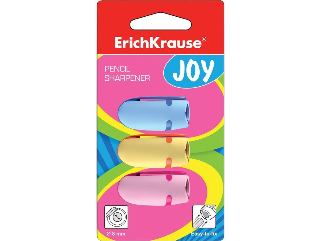 Set Ascutitoare Din Plastic Erich Krause Joy 3 Buc 2021 sanito.ro