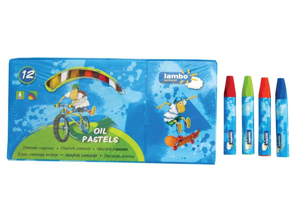 Creioane Cerate Oil Pastels Lambo School 2021 sanito.ro