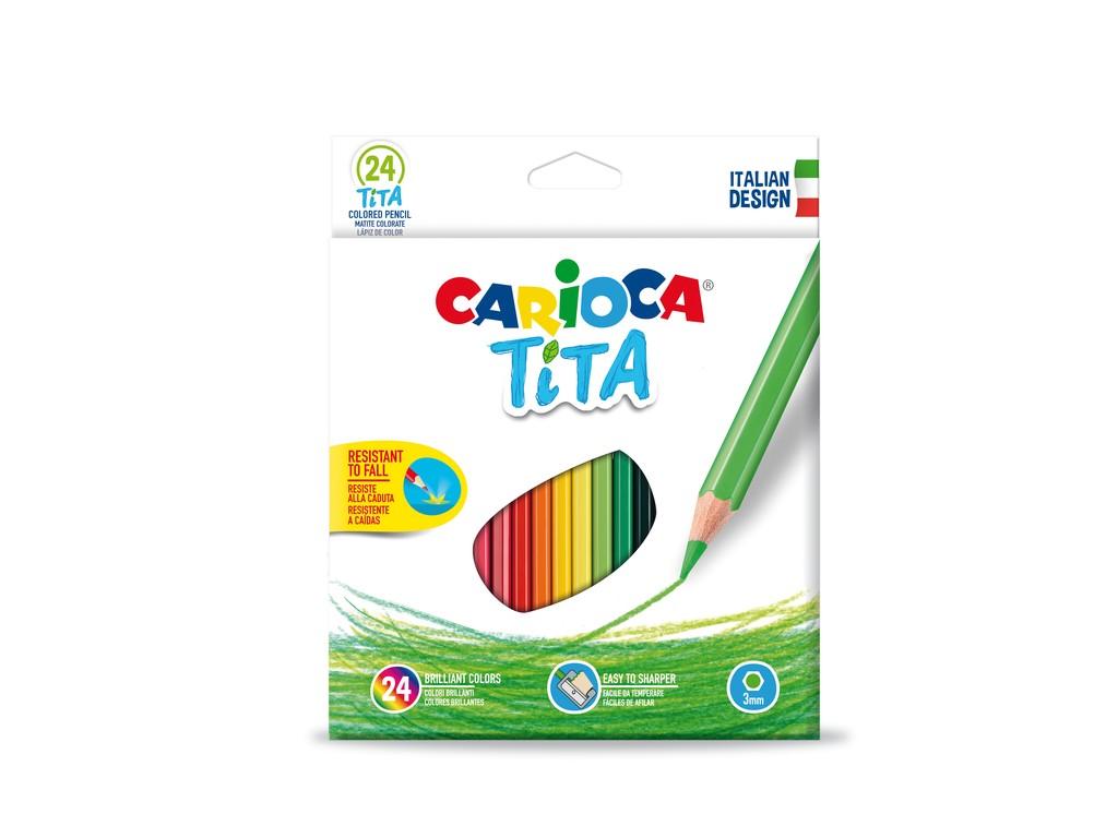 Creioane Color Tita Clasic 24/Set sanito.ro