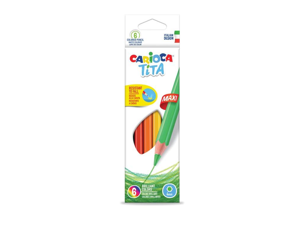 Creioane Color Tita Maxi 6/Set 2021 sanito.ro