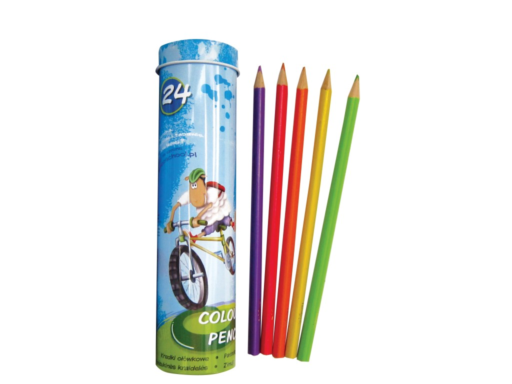 Creioane Color Triunghiulare Lambo School 24/Set sanito.ro
