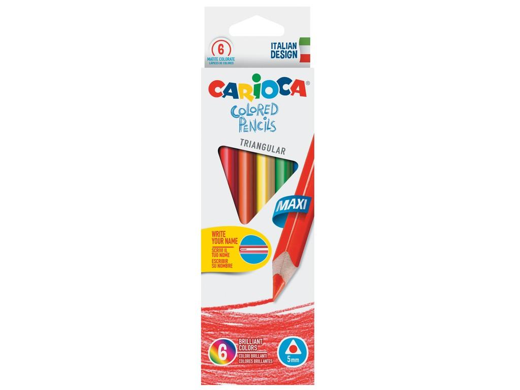 Creioane Color Triunghiulare Maxi 6/Set 2021 sanito.ro