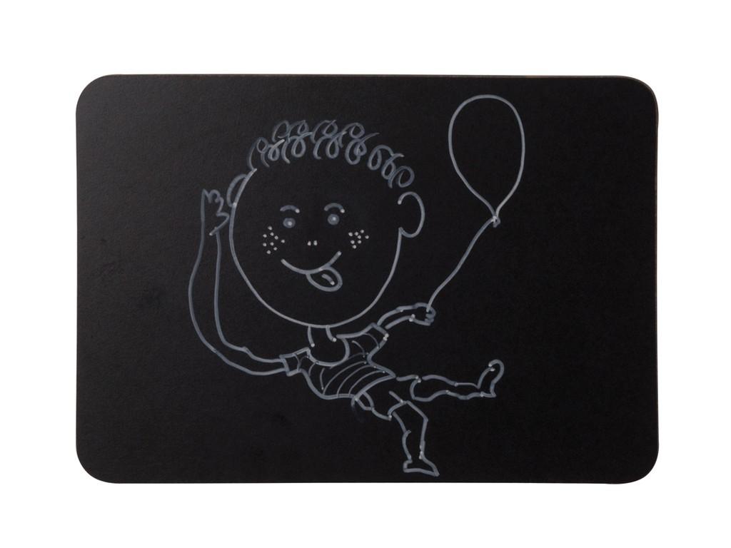 Tabla Neagra Fara Rama A4 Bi-Silque sanito.ro