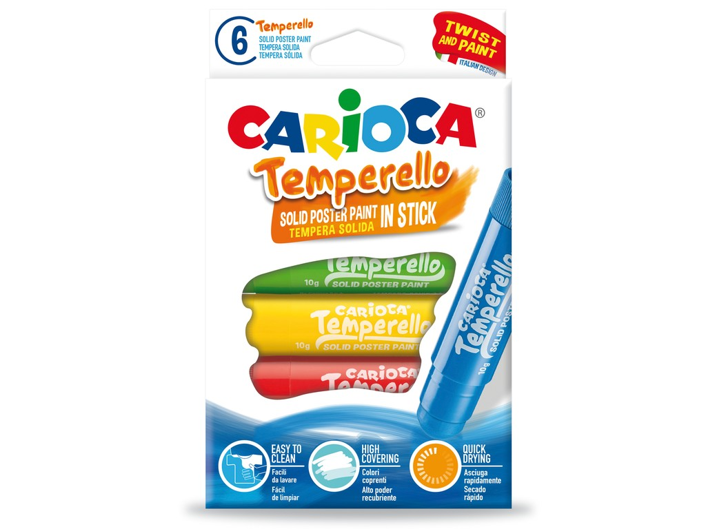 Creion-Tempera Temperello 6/Set sanito.ro