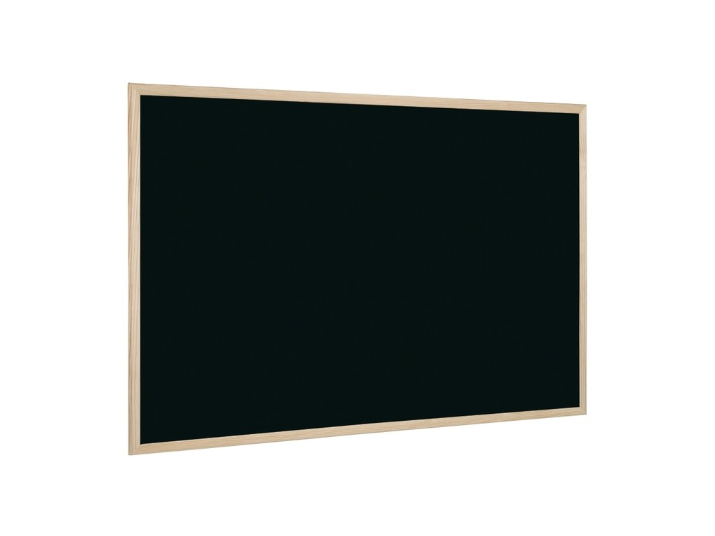 Tabla Neagra Cu Rama Din Lemn 60 X 40 Cm 2021 sanito.ro