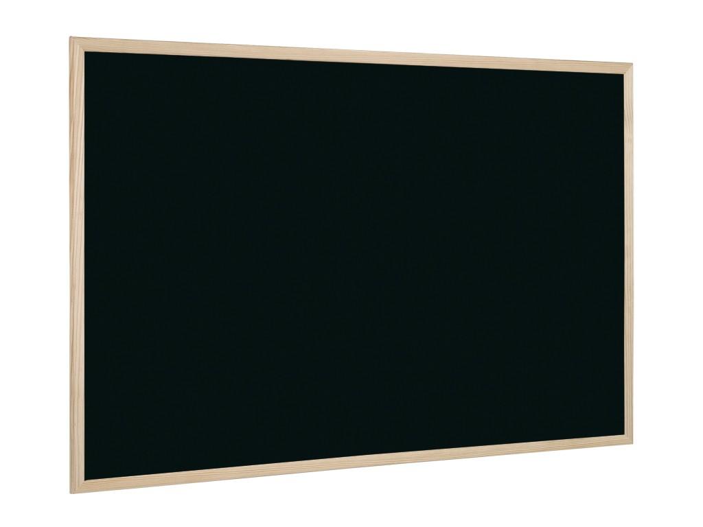 Tabla Neagra Cu Rama Din Lemn 80 X 60 Cm sanito.ro