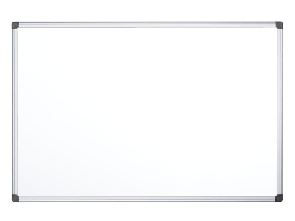 Whiteboard Magnetic Cu Rama Din Aluminiu 90 X 60 Cm Bi-Silque sanito.ro