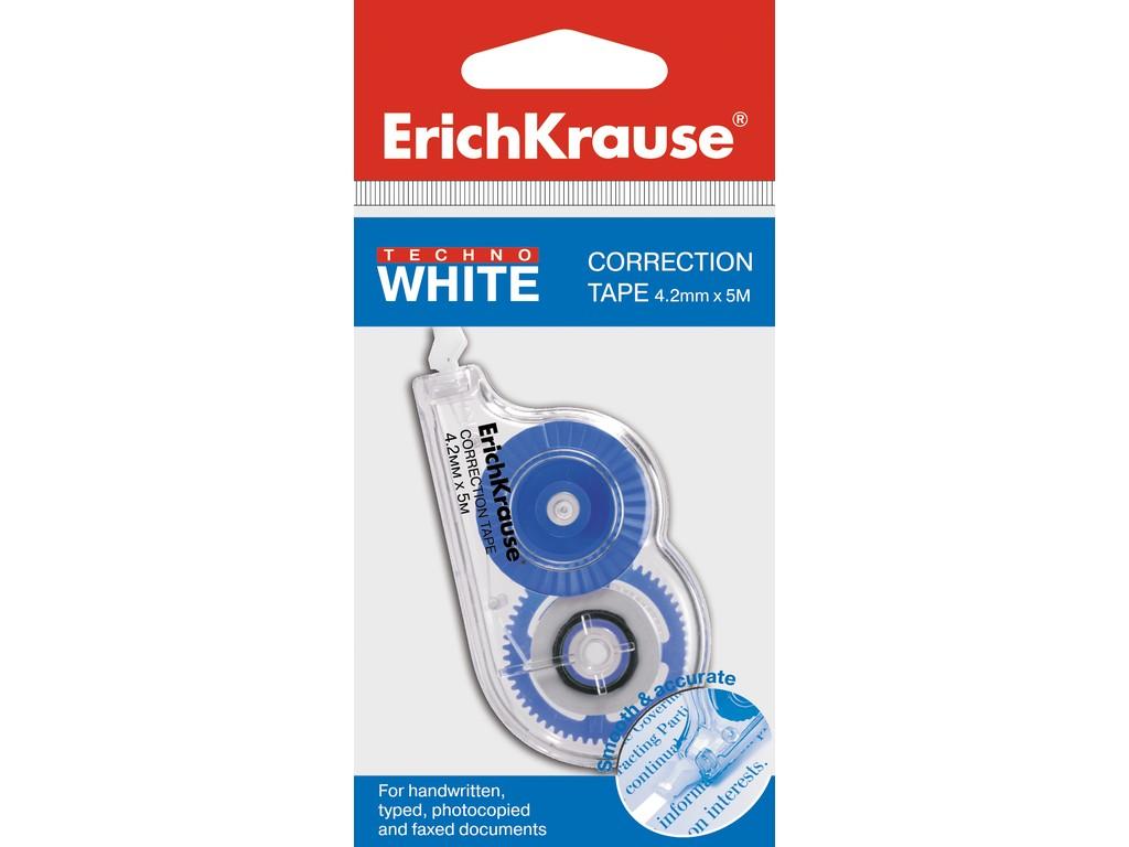 Banda Corectoare Erich Krause Techno White Mini 4 2mm X 5m 2021 sanito.ro