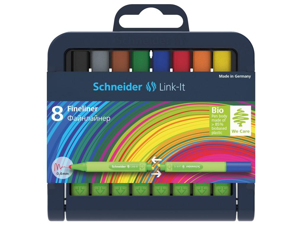 Set Liner Schneider Link-It 0 4 Mm 8 Culori sanito.ro