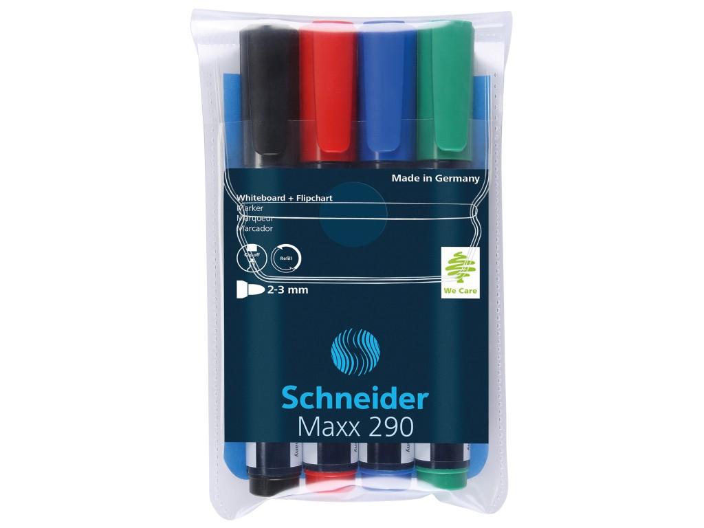 Set Board Marker Schneider Maxx 290 2021 sanito.ro
