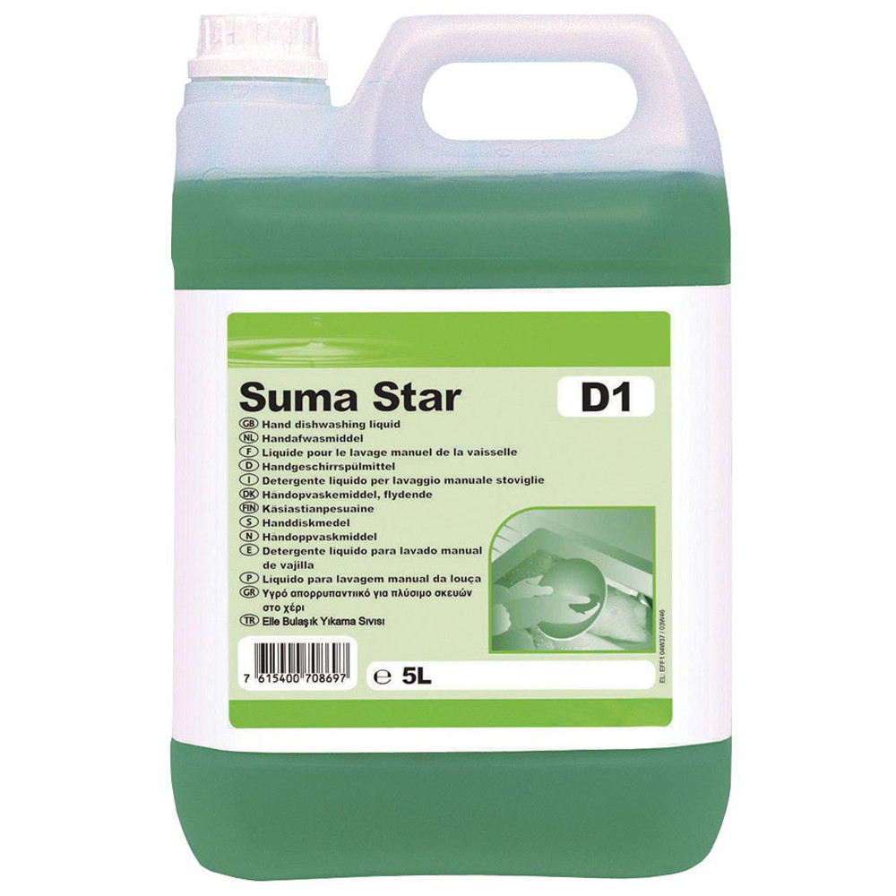 Detergent Vase Manual Suma Star D1 Diversey 5l 2021 sanito.ro