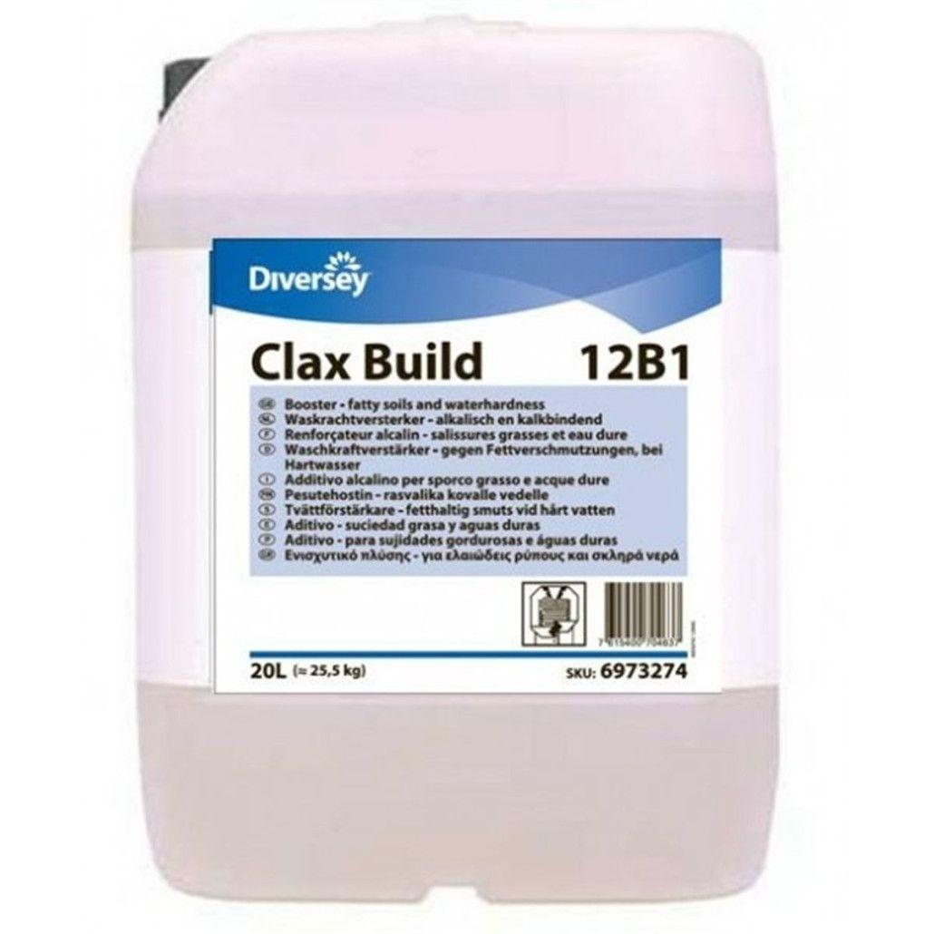 Aditiv Alcalin Pentru Textile Clax Build Diversey 20l sanito.ro