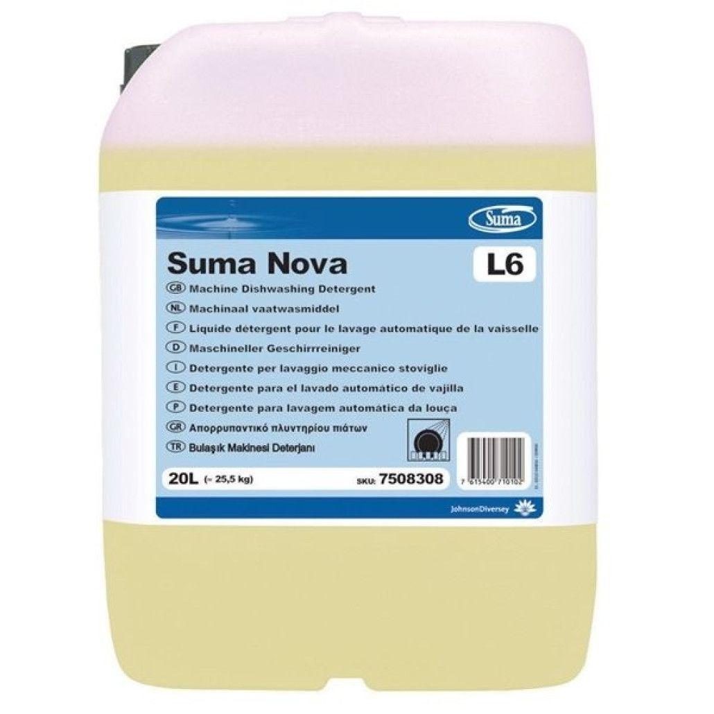 Detergent Pentru Masina De Spalat Vase Suma Nova L6 Diversey 20l 2021 sanito.ro