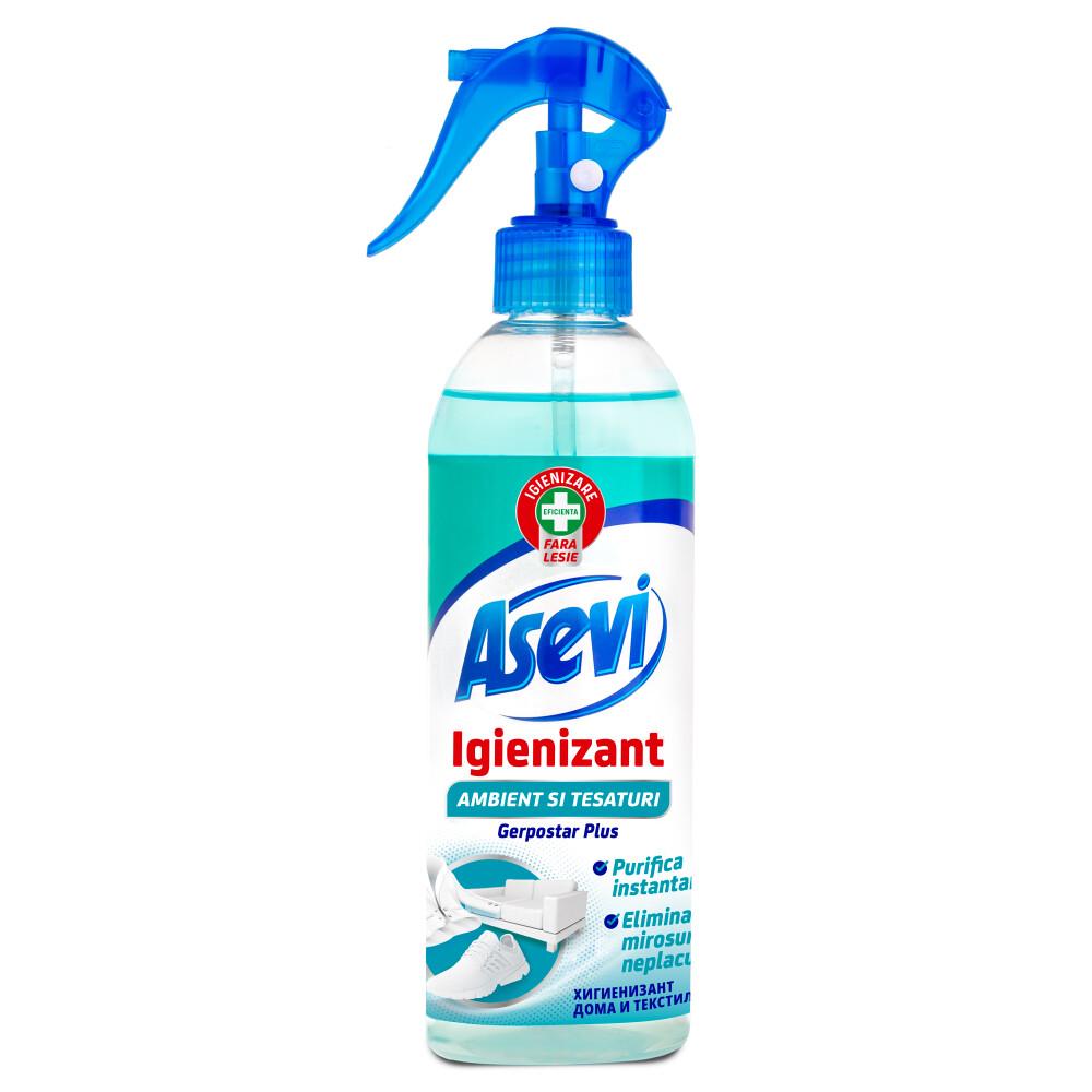 Igienizant Ambient Si Tesaturi Asevi Gerpostar Flacon 400 Ml sanito.ro