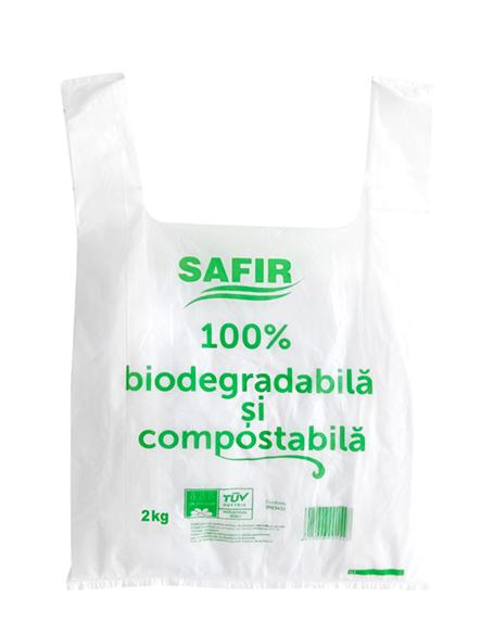 Pungi Alimentare Biodegradabile 2 Kg 100 Buc/Set sanito.ro