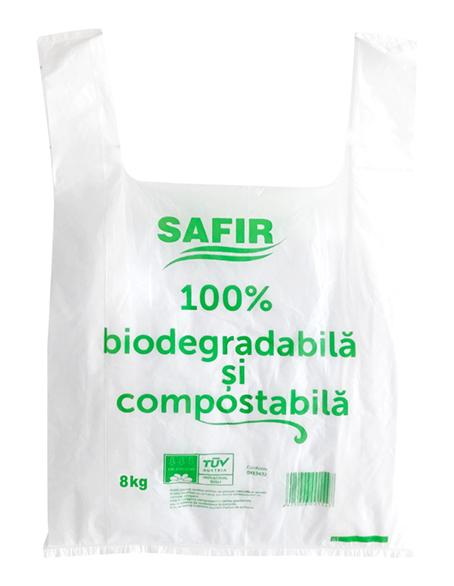Pungi Alimentare Biodegradabile 8kg 50buc/Set sanito.ro