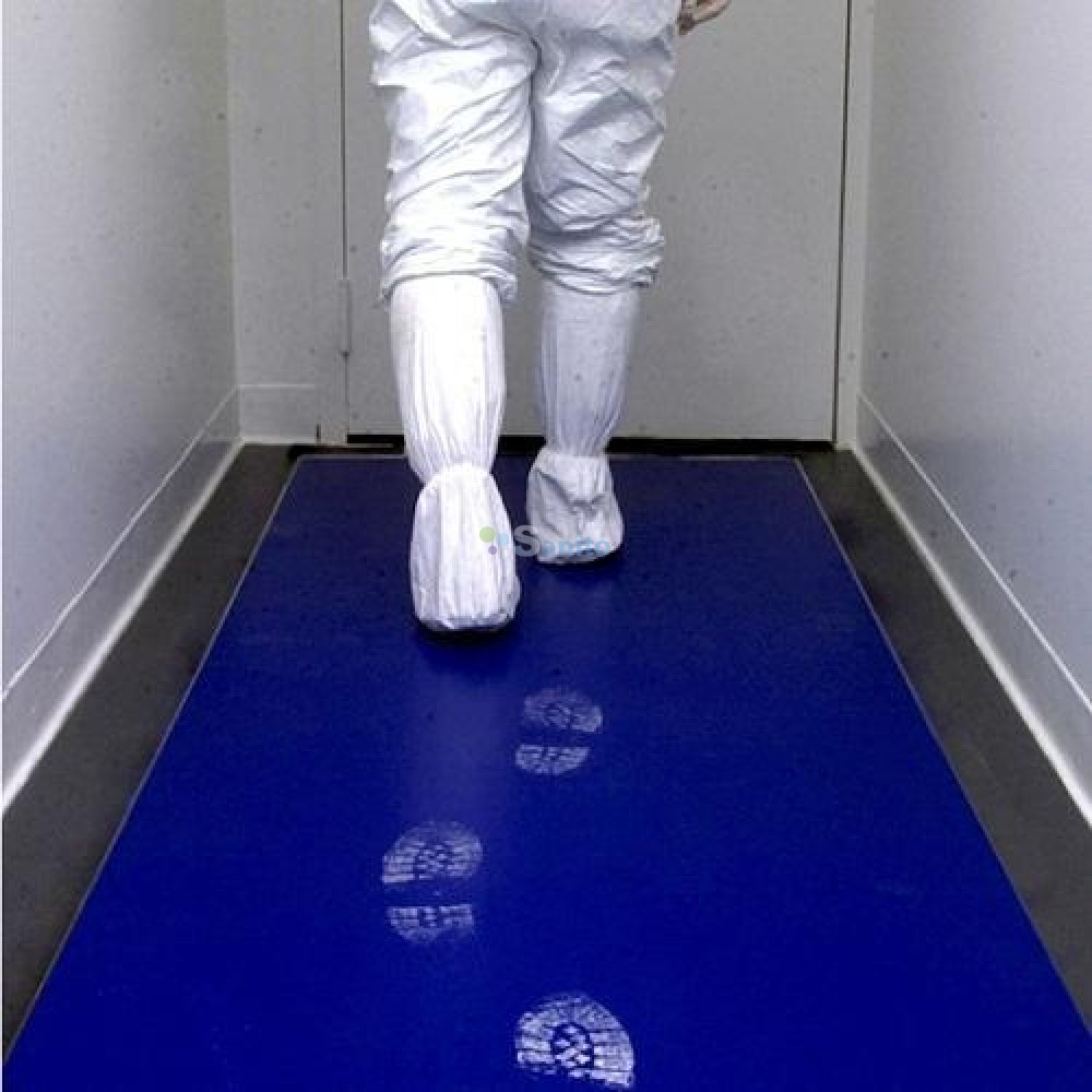 Covor Decontaminare Sticky Mat Albastru 45 X 115 Cm 2021 sanito.ro