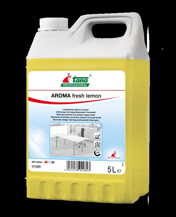 Detergent Concentrat Aroma Fresh Lemon Suprafete Diverse 5l sanito.ro