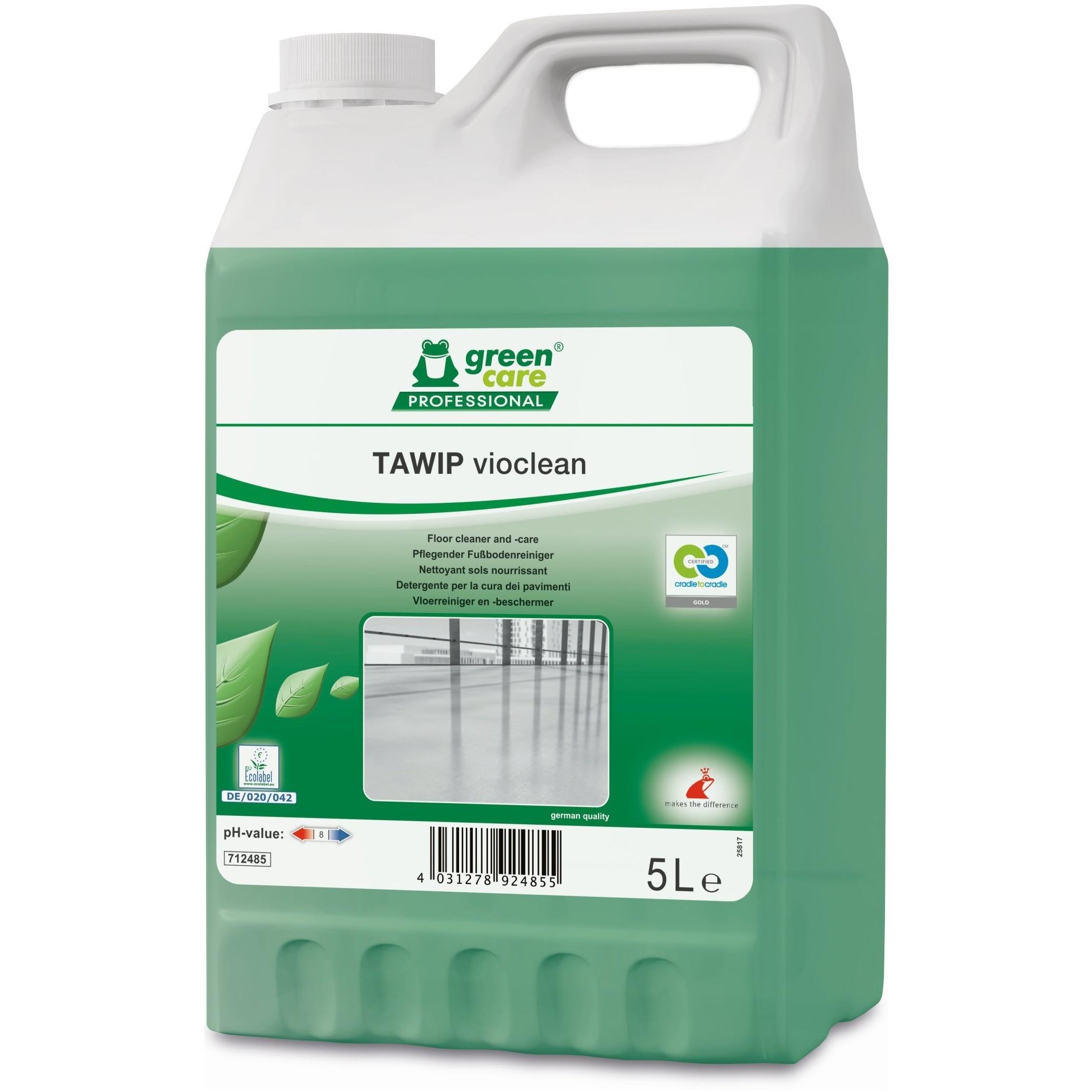 Detergent Ecologic Concentrat Pardoseli Tawip Vioclean 5l sanito.ro