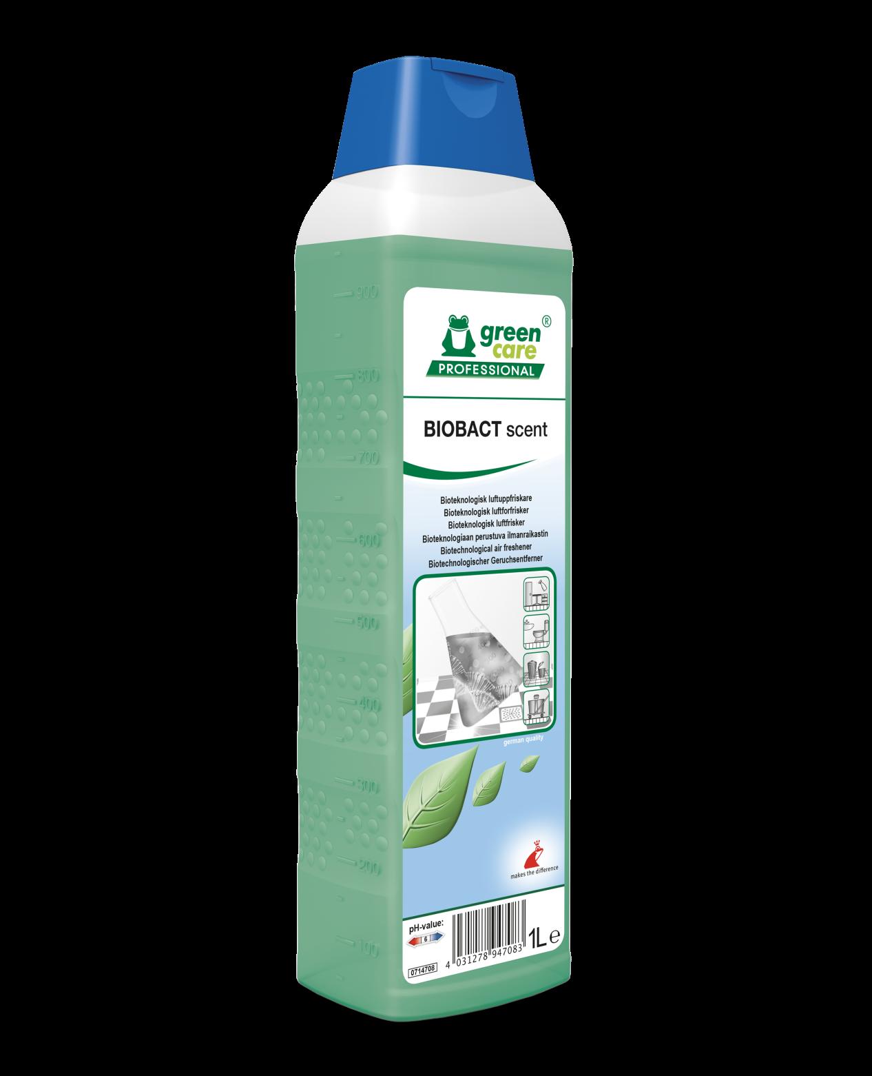 Detergent Ecologic Pentru Curatare Si Eliminarea Mirosurilor Neplacute Biobact Scent 1l sanito.ro