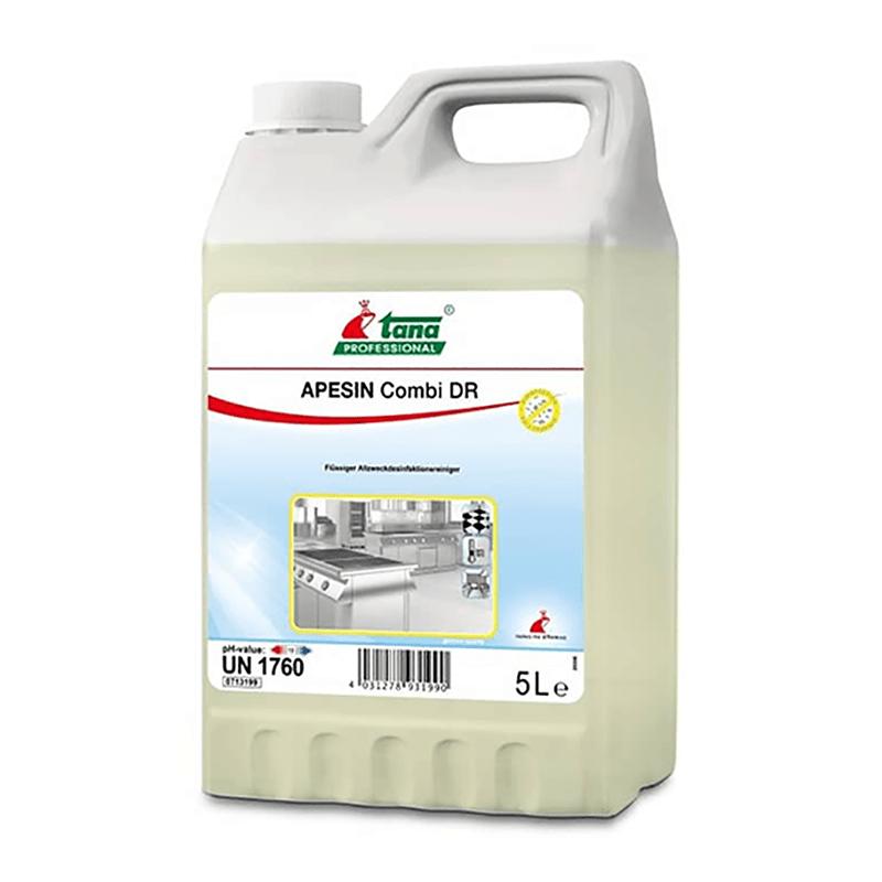 Detergent Dezinfectant Concentrat Pe Baza De Saruri Cuaternare Apesin Combi Dr 5l sanito.ro