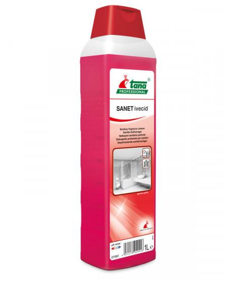 Detergent Concentrat Spatii Sanitare 1l - Tana Sanet Ivecid sanito.ro